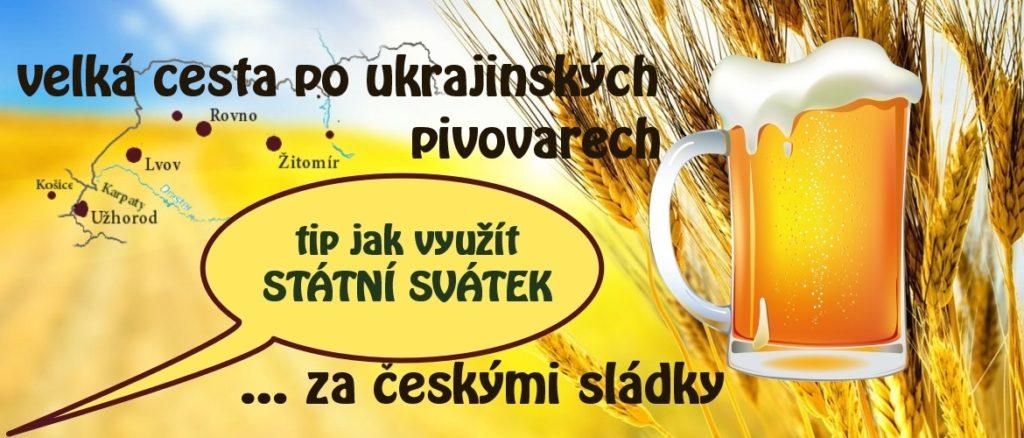 Velká cesta po ukrajinských pivovarech za českými sládky